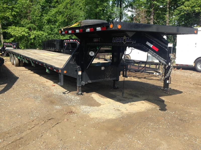 USED 102x40 Load Max Hot Shot Trailer with Duals