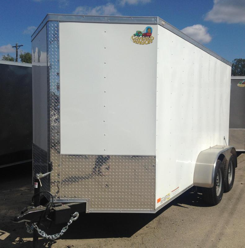 6x12 Tandem Axle Enclosed Cargo Trailer-CLEARANCE
