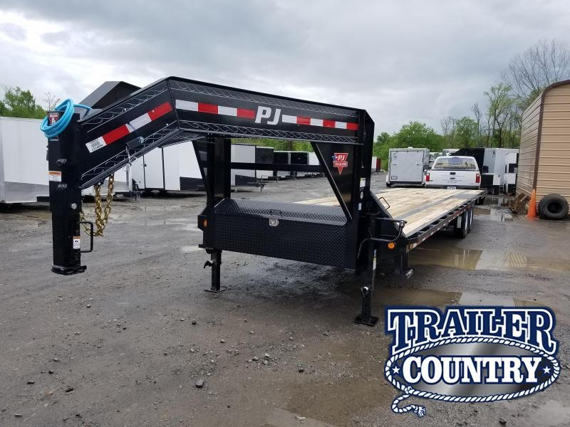 2020 PJ Trailers 32FT Flatbed Trailer