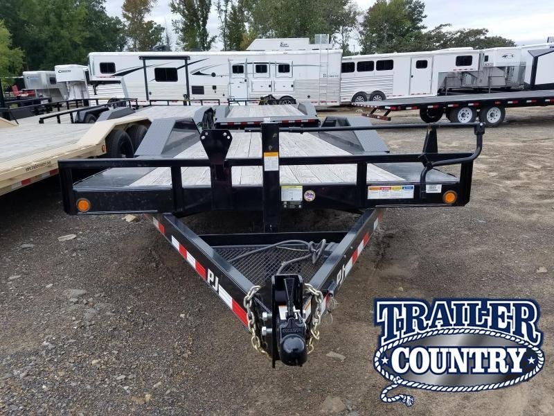 2018 PJ Trailers 102X20 TILT Car / Racing Trailer