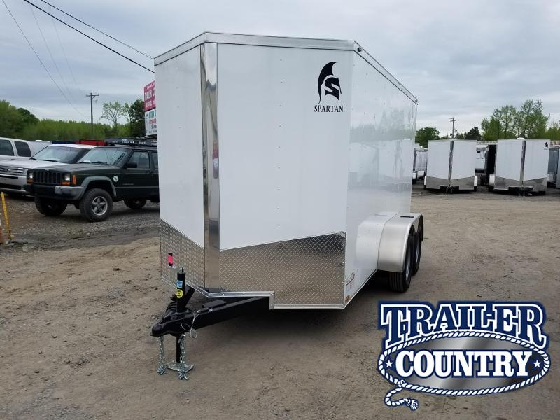 2019 Spartan 6X12TA Enclosed Cargo Trailer