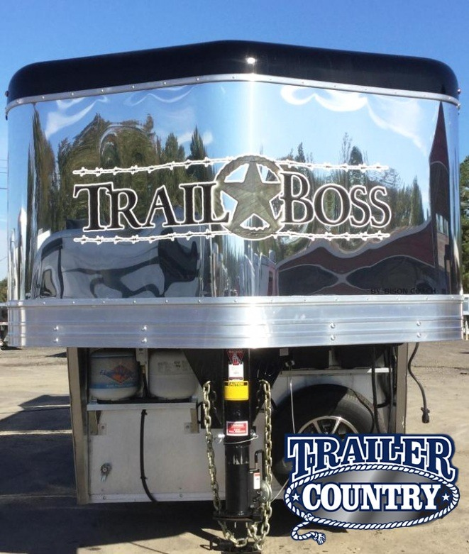2018 Bison Trailers BISON 7311TBSO 3 HORSE 11 SHORTWALL WITH SLIDE O Horse Trailer