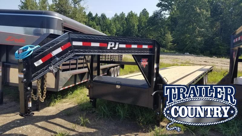 2020 PJ Trailers 32' LOW-PRO Flatbed Trailer