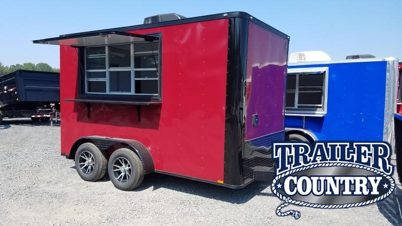 2020 Spartan 7X12 TA Vending / Concession Trailer