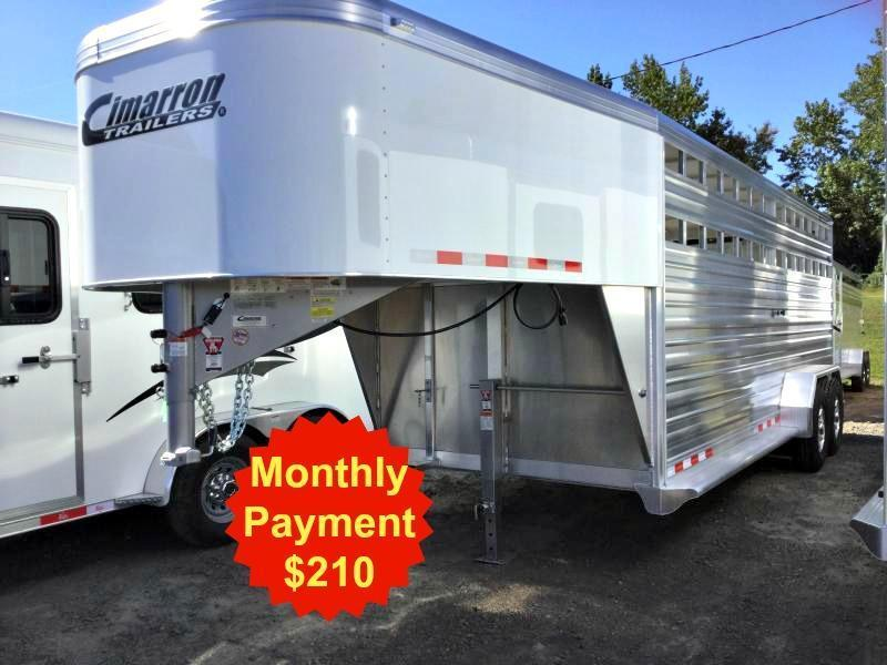 2017 CIMARRON LONESTAR 20' STOCK ***JUST REDUCED***