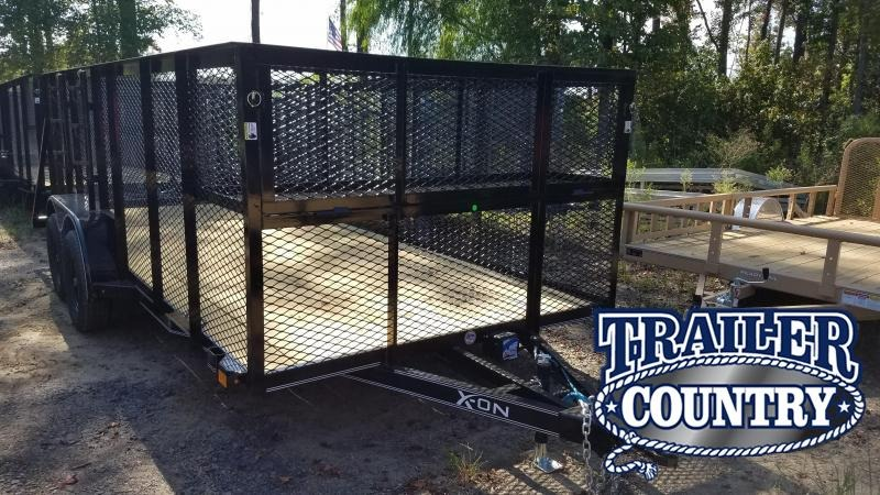 2019 X-On 83X16 TA LANDSCAPE Utility Trailer