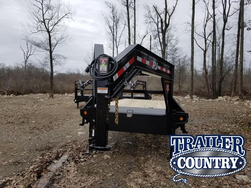 2019 PJ Trailers 102X24 GN Flatbed Trailer