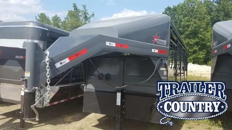2019 Nationwide Trailer 16' Livestock Trailer