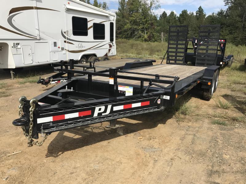 83x20 PJ Pro Beam Equipment Trailer-25000lb GVWR