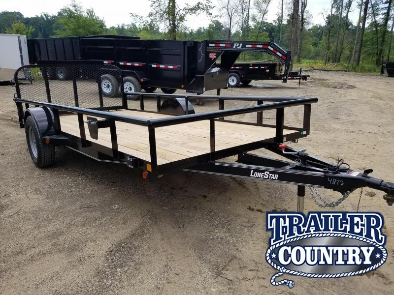 2019 East Texas 77X14 SA Utility Trailer