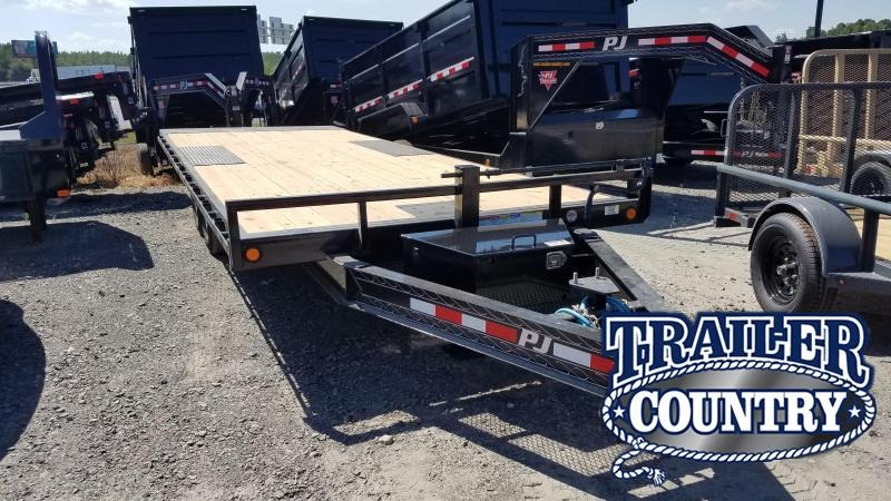 2020 PJ Trailers 22 FT DECKOVER TILT Car / Racing Trailer