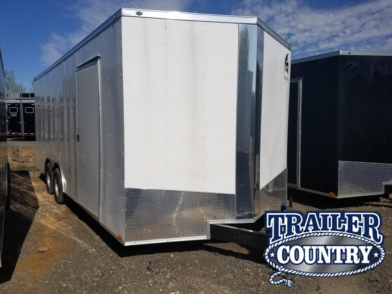 2018 Spartan 8.5X20 TA Enclosed Cargo Trailer