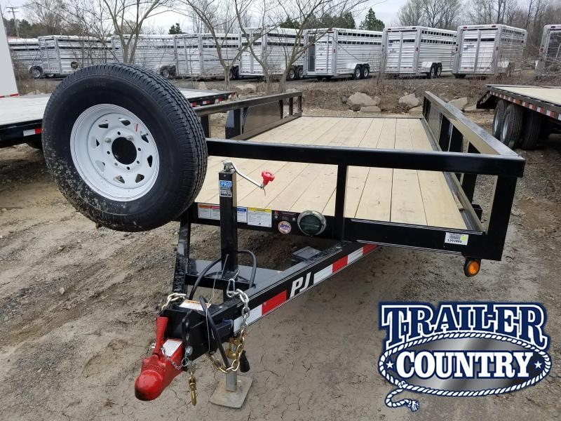 2019 PJ Trailers RENTAL---20 Angle Pipetop --RENTAL-- Car / Racing Trailer
