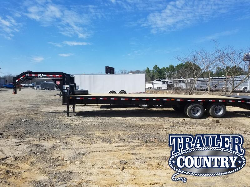 RENTAL   2019 PJ Trailers 32 FLATDECK Flatbed Trailer