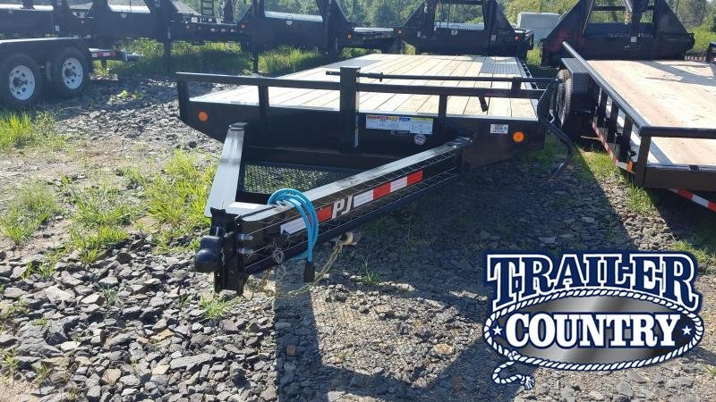 2020 PJ Trailers 20FT I-BEAM DECKOVER Equipment Trailer