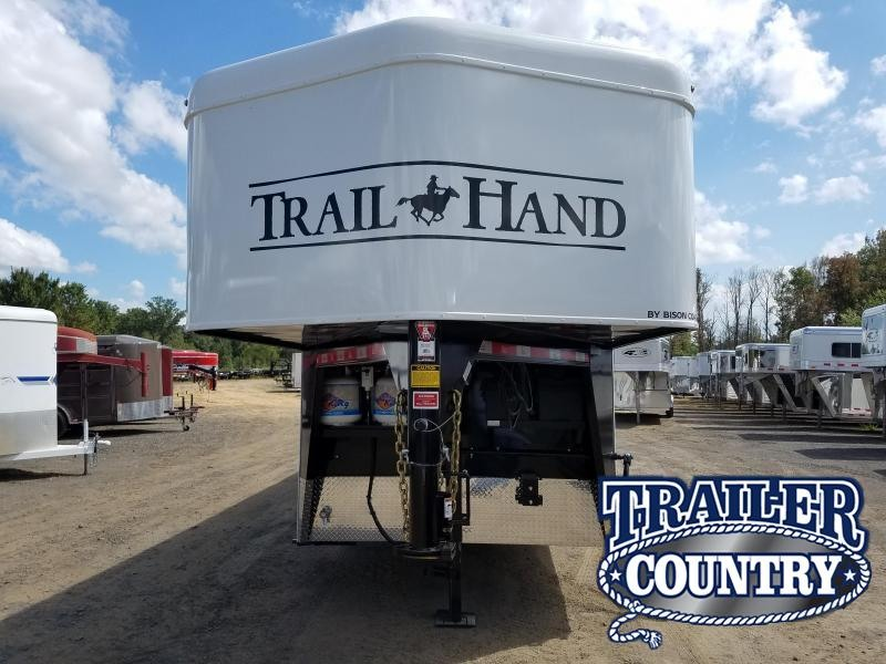 2019 Bison Trailers 7309 TRAIL HAND Horse Trailer