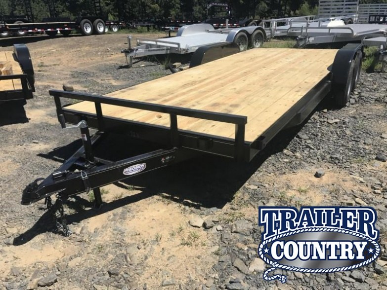 83x20 Carhauler Trailer-Slide In Ramps