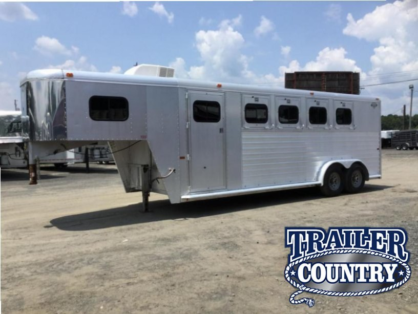 USED HART  4 Horse Slant Trailer***JUST REDUCED****