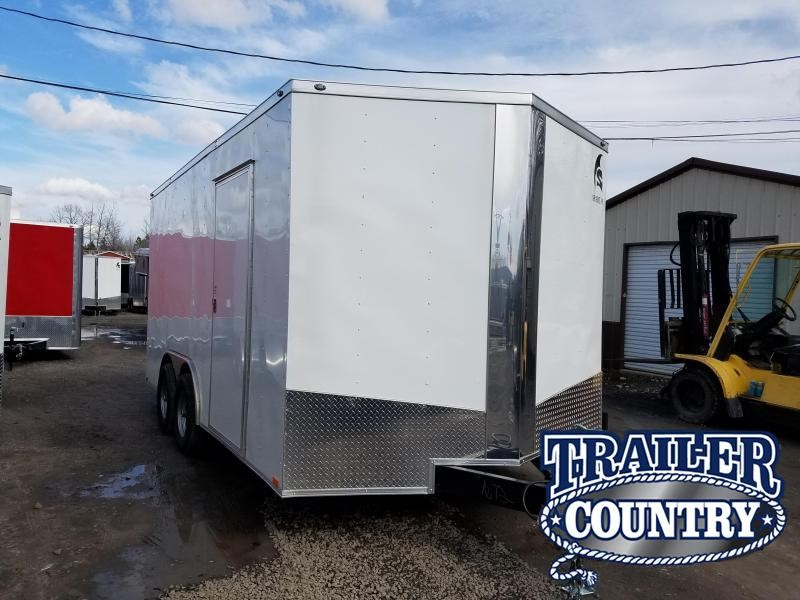 2018 Spartan 8.5X16TA Enclosed Cargo Trailer