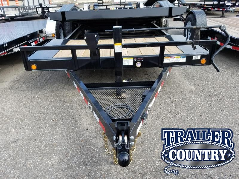 2018 PJ Trailers 102X20 TILT Equipment Trailer
