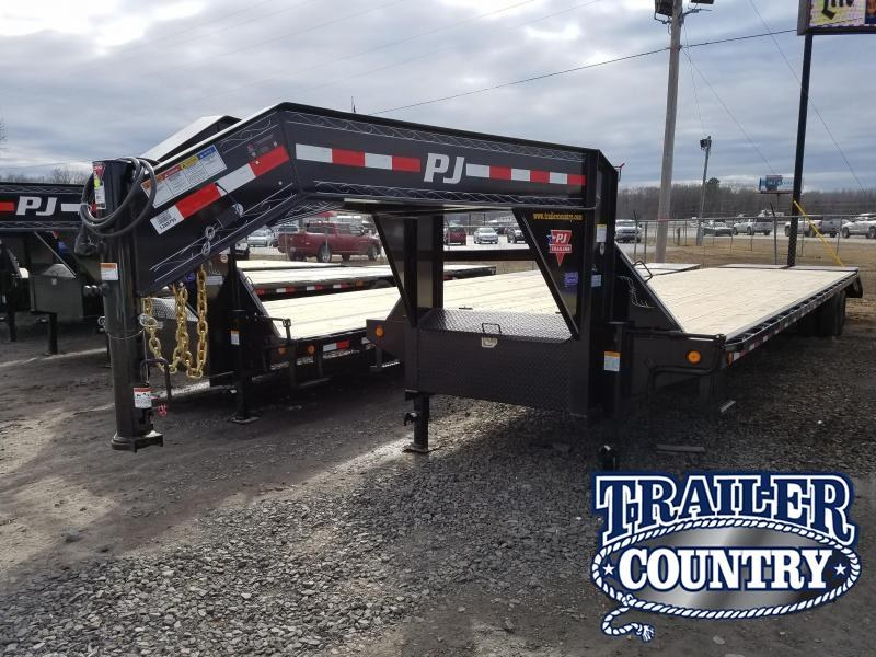 2018 PJ Trailers PJ 102X40 GN Flatbed Trailer