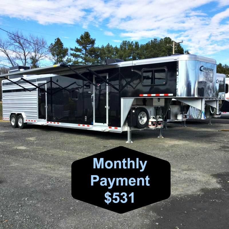 2017 CIMARRON LONESTAR 34' STOCK COMBO WITH MID TACK AND LIVING QUARTERS ***JUST REDUCED***
