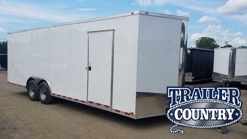 2020 Spartan 8.5X24 TA Enclosed Cargo Trailer
