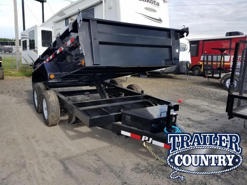 2020 PJ Trailers 72X12 TA Dump Trailer