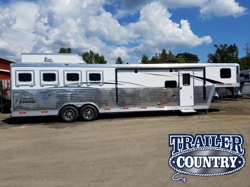 2019 Bison Trailers 8411 LDRS Horse Trailer
