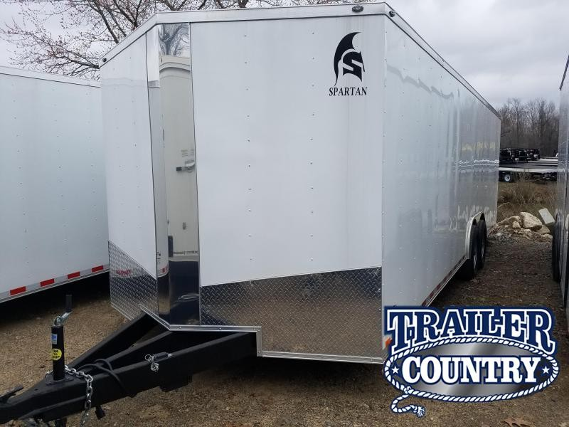 2019 Spartan 8.5X24 Enclosed Cargo Trailer
