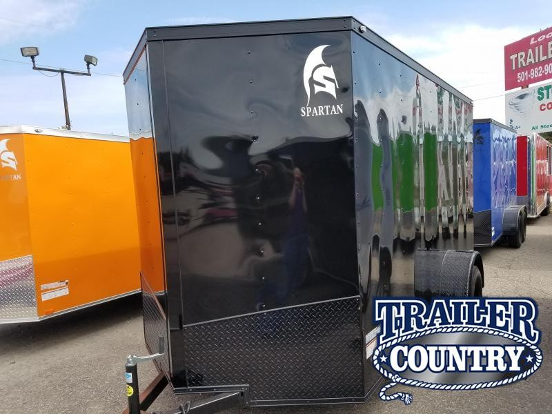 2019 Spartan 6X12SA Enclosed Cargo Trailer