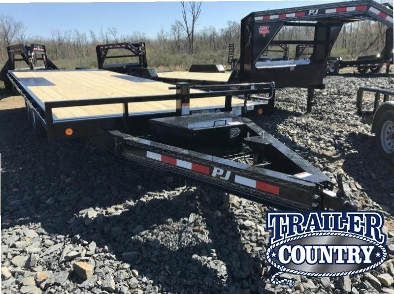 96x22' PJ Deckover Tilt Equipment Trailer