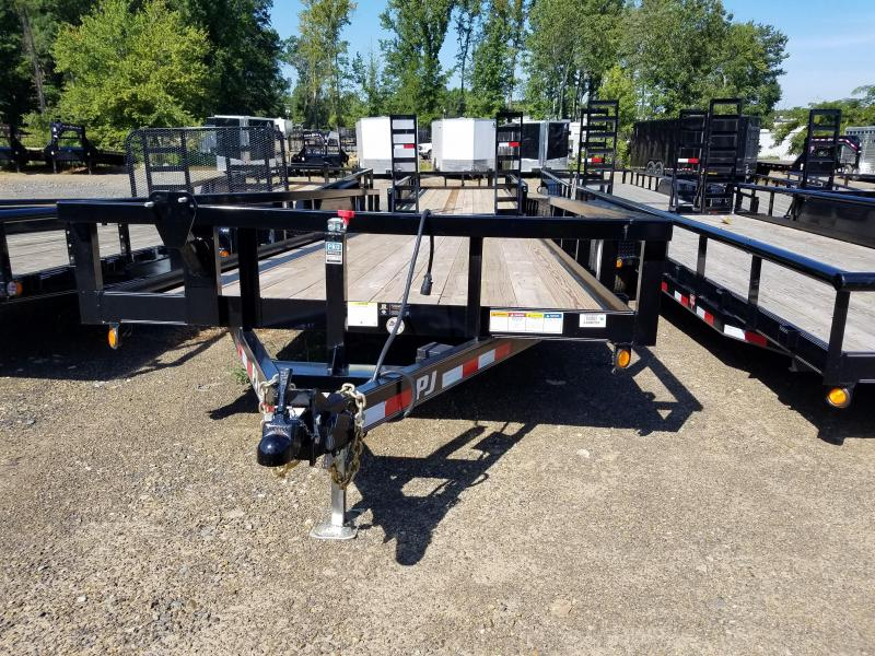2018 PJ Trailers 83X24TA Equipment Trailer