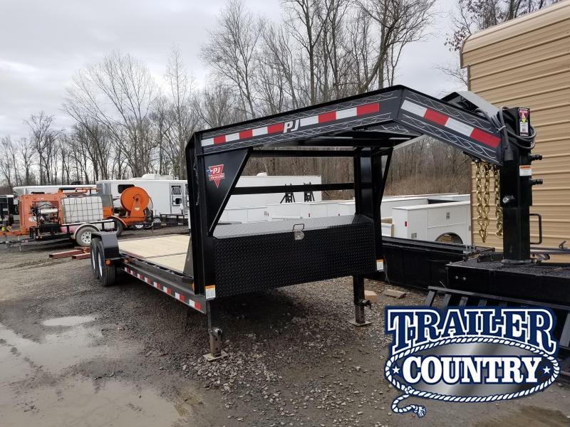 2018 PJ Trailers PJ 24 EQUIPMENT TILT Equipment Trailer
