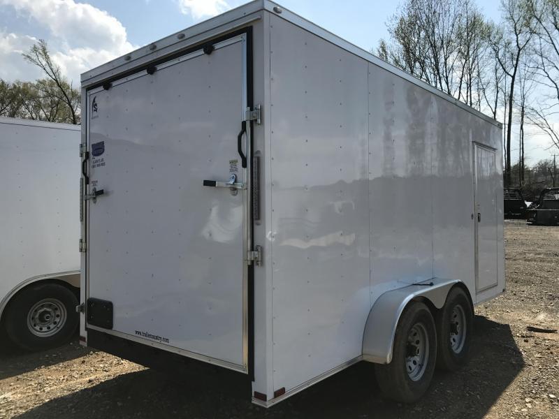 7x16 HD Enclosed Cargo Trailer-7000lb Axles