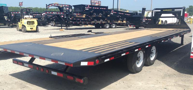 96x26 PJ Gooseneck Deckover Tilt Trailer-Blackwood Lumber