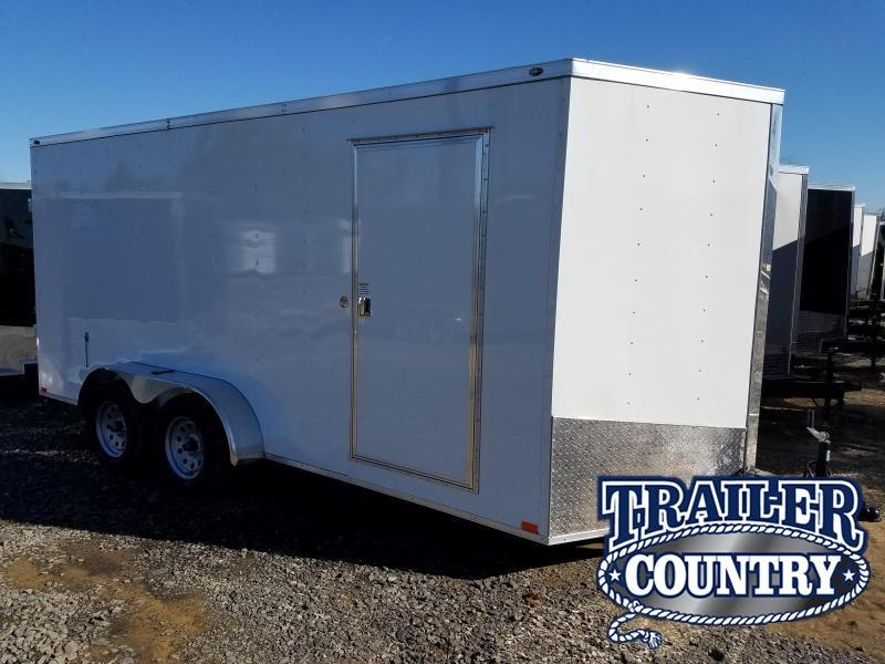 2018 Spartan SPARTAN 7X16 TA CARGO DD Enclosed Cargo Trailer