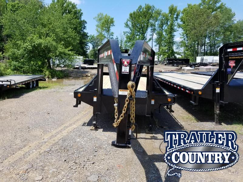 2018 PJ Trailers 102X40 HD GN Flatbed Trailer