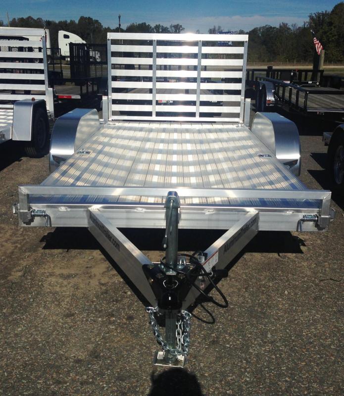7x14 All Aluminum Utility Trailer-Torsion Axles-CLEARANCE