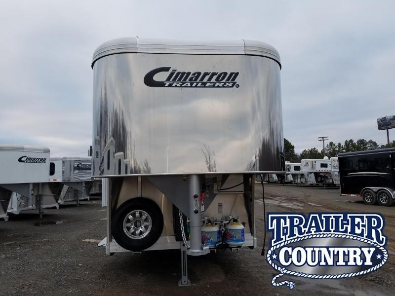2018 Cimarron Trailers Cimarron Lonestar Livestock Trailer