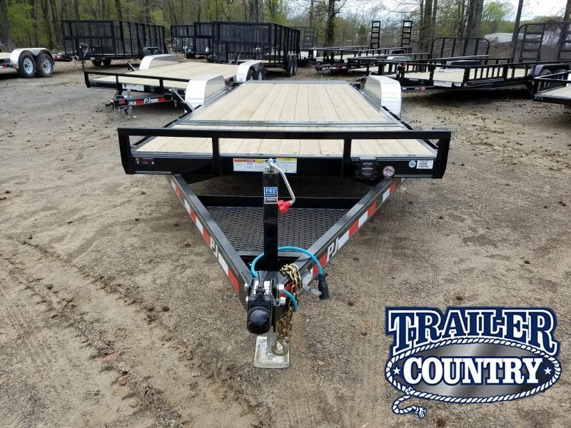 2018 PJ Trailers 83X20 TILT Car / Racing Trailer