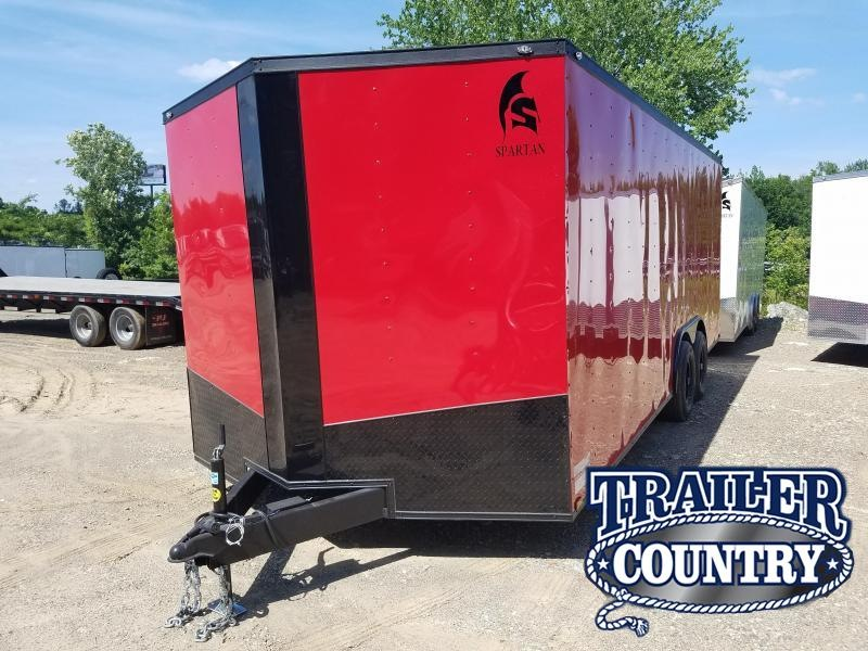 2019 Spartan 8.5X20 TA Enclosed Cargo Trailer