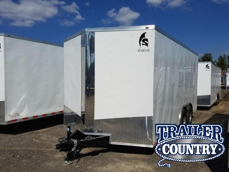 8.5x16 Enclosed Cargo Trailer-Ramp Door-7' height