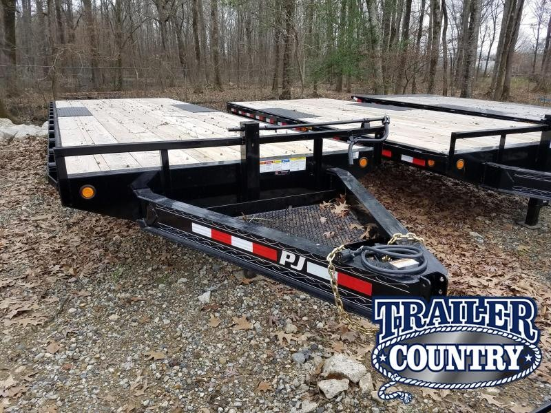 2019 PJ Trailers 96X24 Equipment Trailer