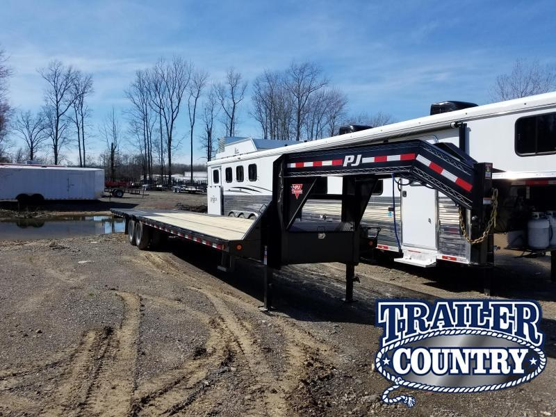 2019 PJ Trailers 36 LOW-PRO Flatbed Trailer