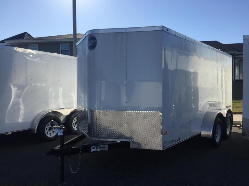 2018 Wells Cargo FT7162 Enclosed Cargo Trailer