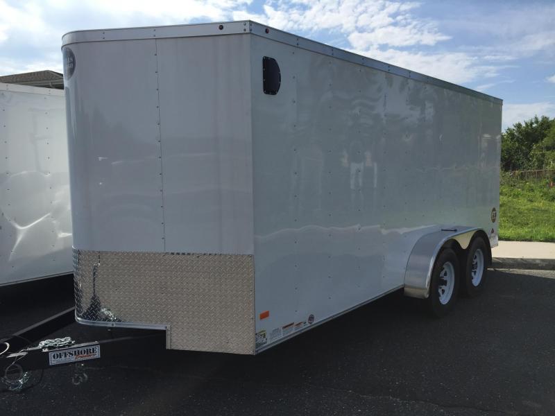 2017 Wells Cargo FT7142 Enclosed Cargo Trailer