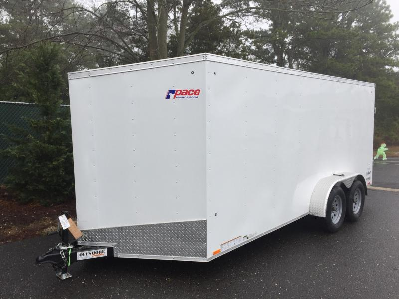 2018 Pace American Outback 7x14 Cargo Deluxe Cargo / Enclosed Trailer