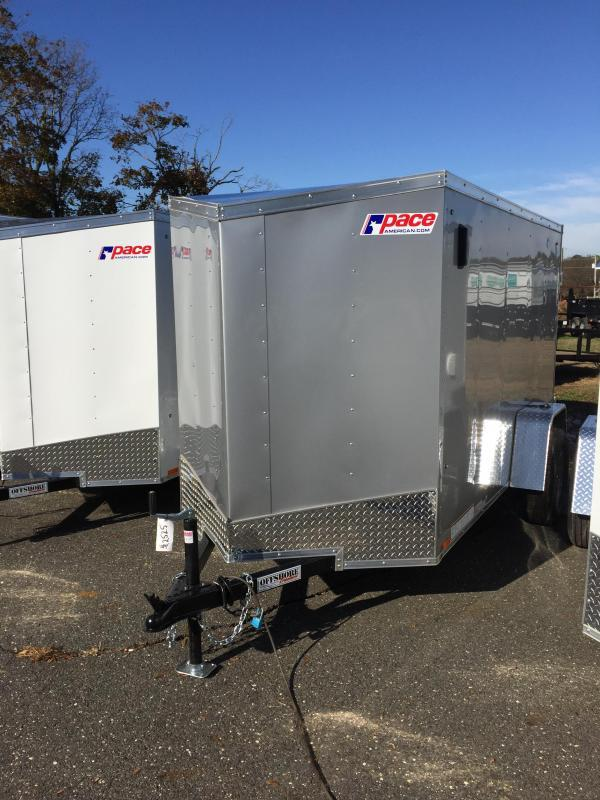 2018 Pace American Outback 6x12 dlx enclosed box trailer
