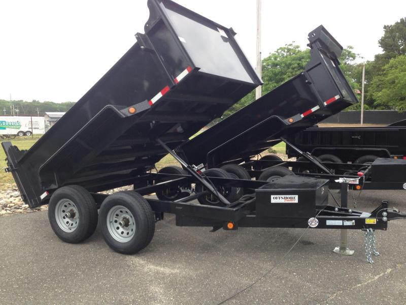 2018 Quality Steel and Aluminum 6X10 LOW PROFILE Dump Trailer